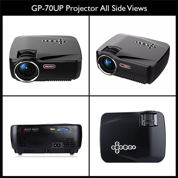 Vivibright Gp70 Up 3d Hd Led Android Mini Projector Price