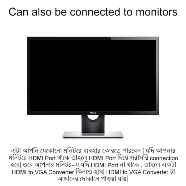 Android Smart TV Box Can aso be connected to monitors