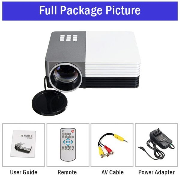 GM50 LED Projector LCD Image System