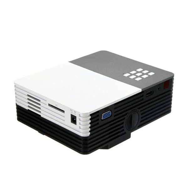 GM50 Portable Projector Supports Powerbank