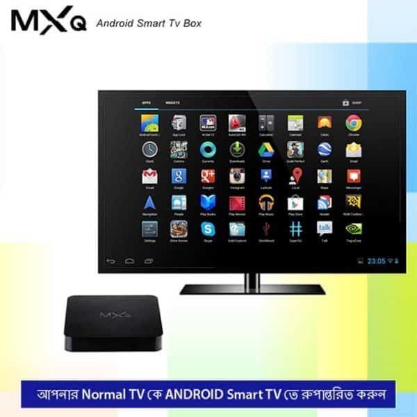 MXQ Android TV Box Turns TV To an Android Smart TV