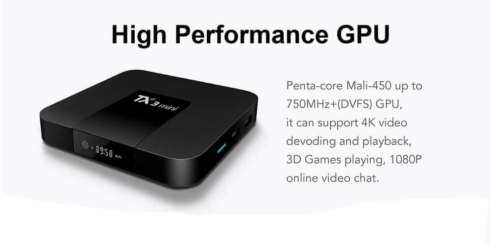 Mali 450 Penta Core GPU 750 MHz