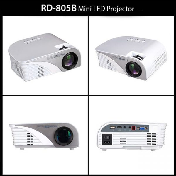 RD805B 1000 Lumens LED Projector Best Price In Bangladesh