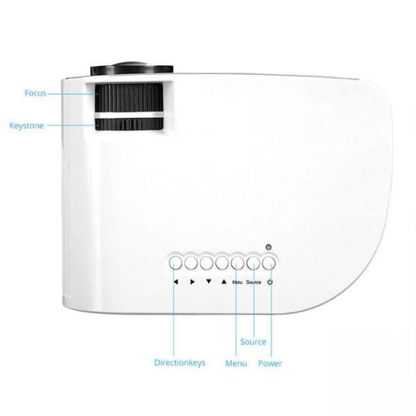 RD805B Projector has mini size