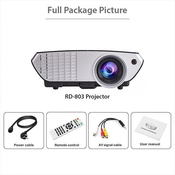Rigal RD803 Projector With All Accessories