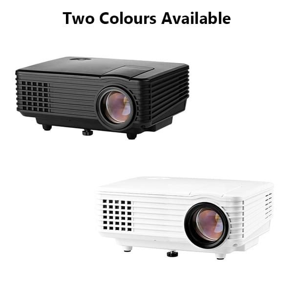 Rigal RD805 800 Lumens LED Projector Has Two Colours