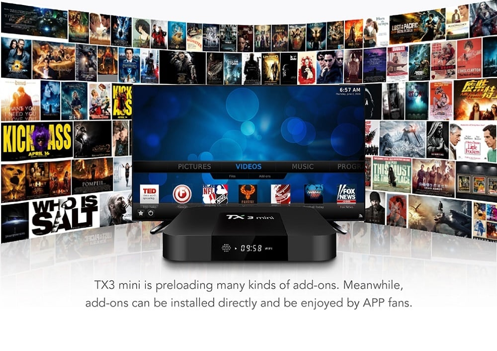 TX3 Mini Supports IP TV Channels
