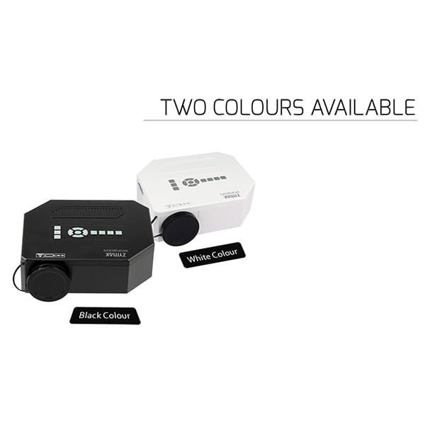 Two Colour Options For Zymak ZP150G Projector