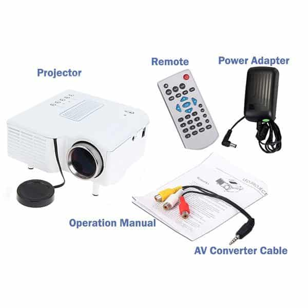 UC28+ Projector Full Package Picture