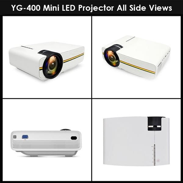 YG400 Projector Full HD 1080P