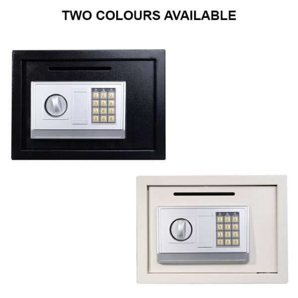 Zymak L220 Digital Safe Locker Has Two Colours To Choose From