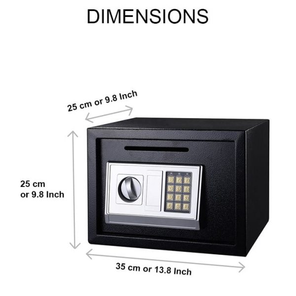 Zymak L220 Safety Locker Dimensions
