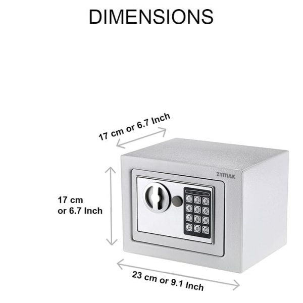 Zymak L64 Mini Locker Dimensions
