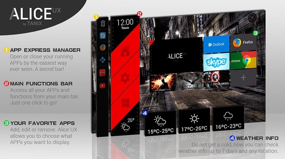 Alice UX Smart Launcher