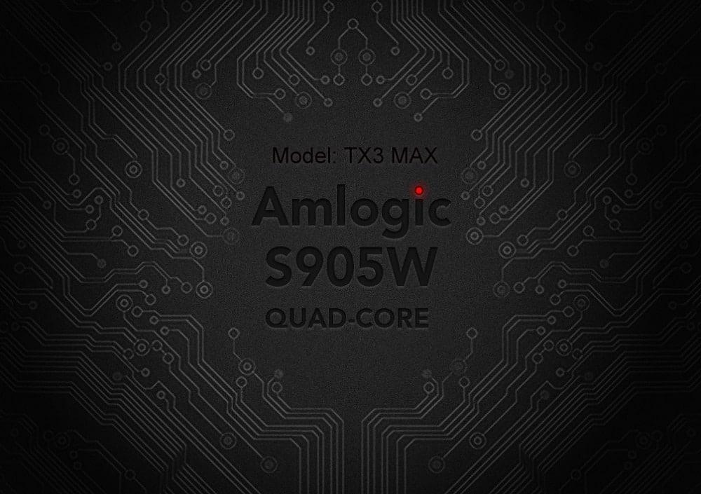 Amlogic S905W Processor
