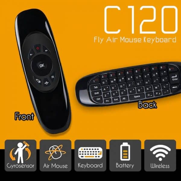 Rechargeable Wireless C120 Fly Air Mouse In Bangladesh