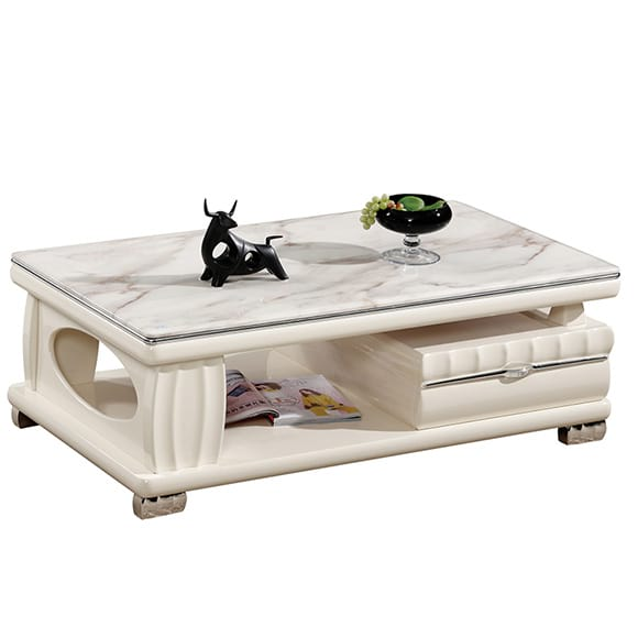 CT-621 Marble Stoned High Quality Tea Table In BD