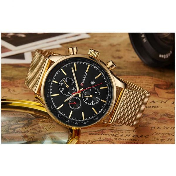 Curren Watch 8227 Golden