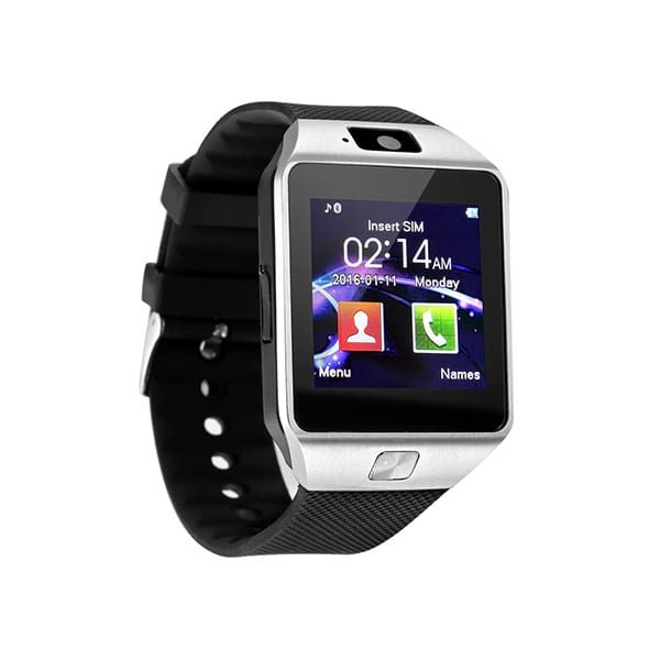 DZ09 Silver Colour 3G Low Price Android Smart Watch In BD