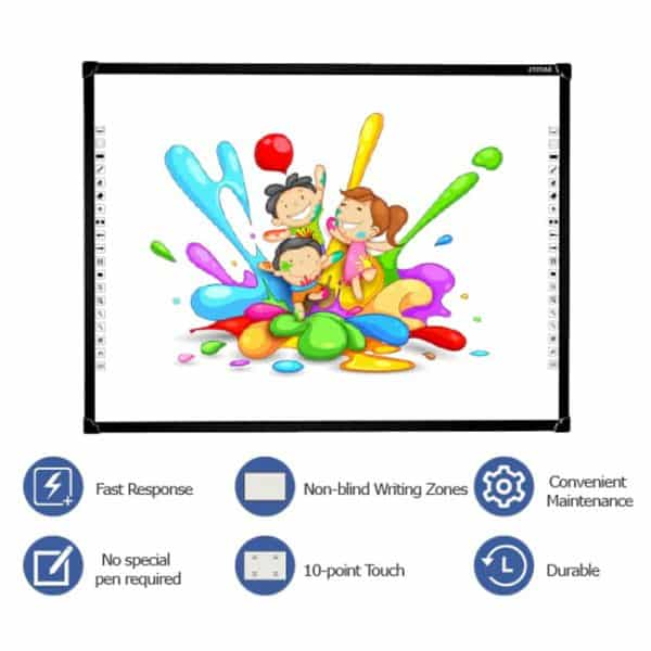 Features of the Zymak 82 Inch Interactive Whiteboard Touchboard