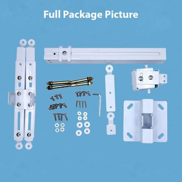 Full Package Picture of the UNIVERSAL Projector Mount Kit Stand