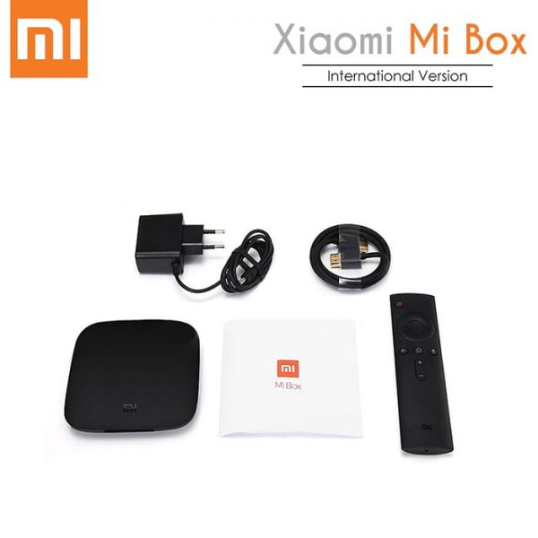 Full Package Picture of the Xiaomi MI Android Smart TV Box