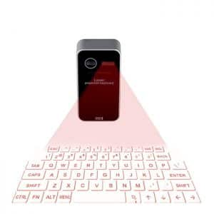 Bluetooth Laser Keyboard With Virtual Touch