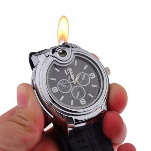 Fashionable Watch With Lighter