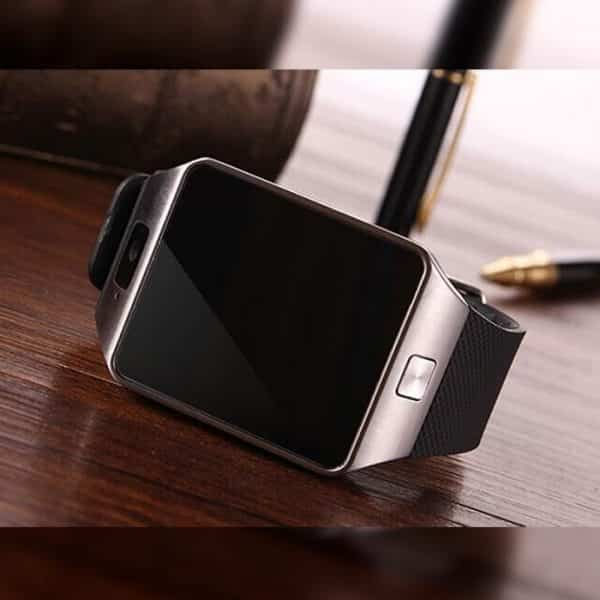 Real Picture of the 3G Android Smart Watch DZ09 Silver