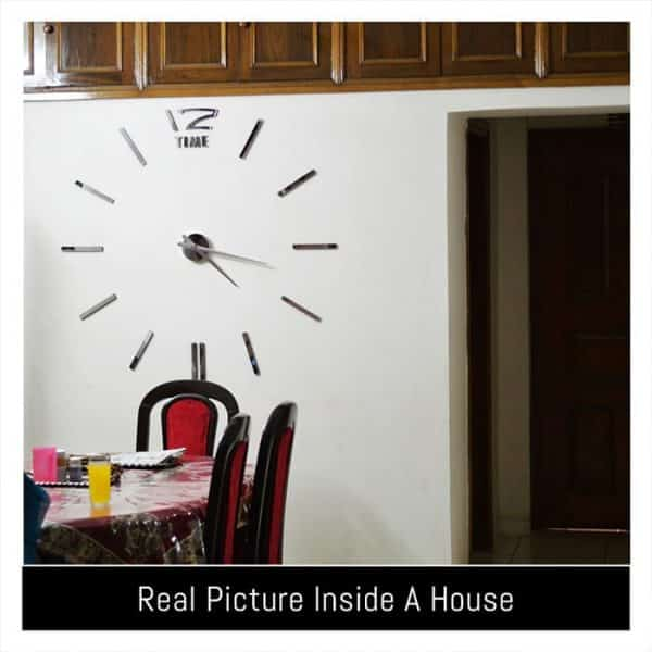 Real Picture of the Wall Clock