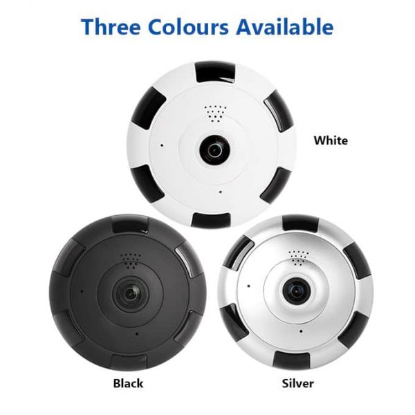 V380 IP Camera Has Three Colour Options