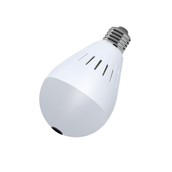 Wireless Bulb Shape 360 Spy Camera X910