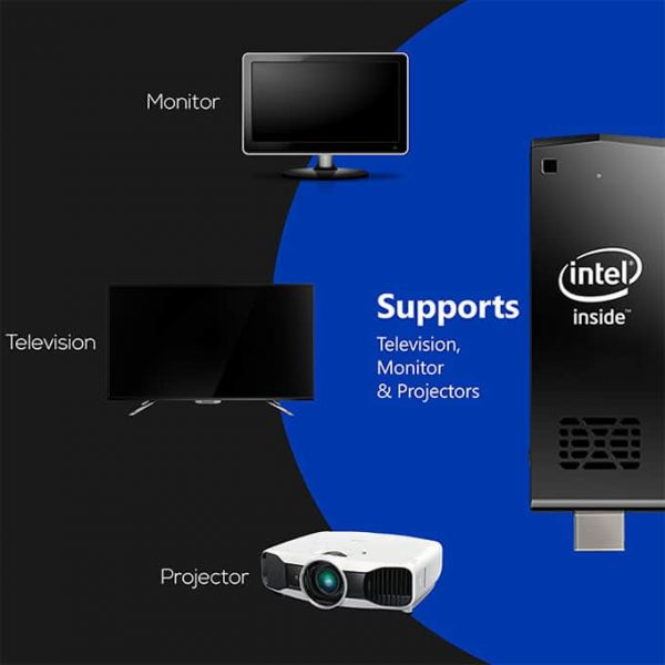 You can connect this pccket pc to monitor projector and tv