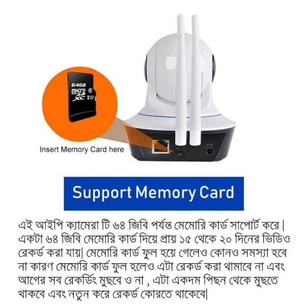 ZC-720 Wireless Mini CC Camera Support 64GB Memory