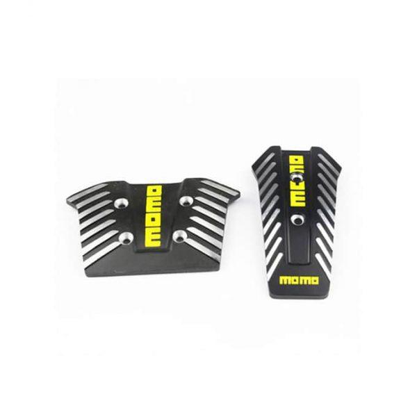 3 pieces MOMO Brake Pedal Cover Set For Car Interior Decoration