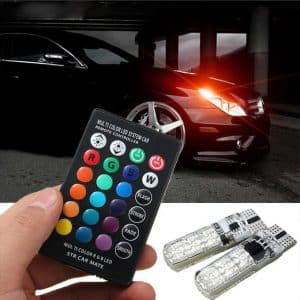 Remote controlled LED Car Parking Lights Latest Car Accessory