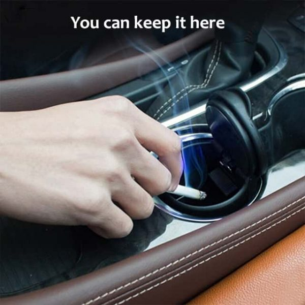 Car ashtray provides more comfort and ease