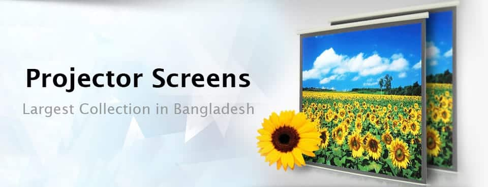 Cheapest Projector Screens of Bangladesh Banner Image