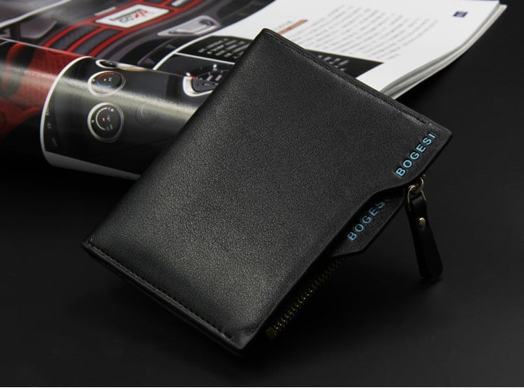 Clear Picture of the Bogesi Men's Wallet Model 836