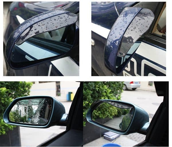 Real Picture of the Car Looking Glass Rainshade