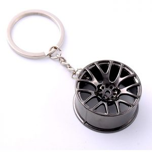 Car Wheel Rim Design Key ring