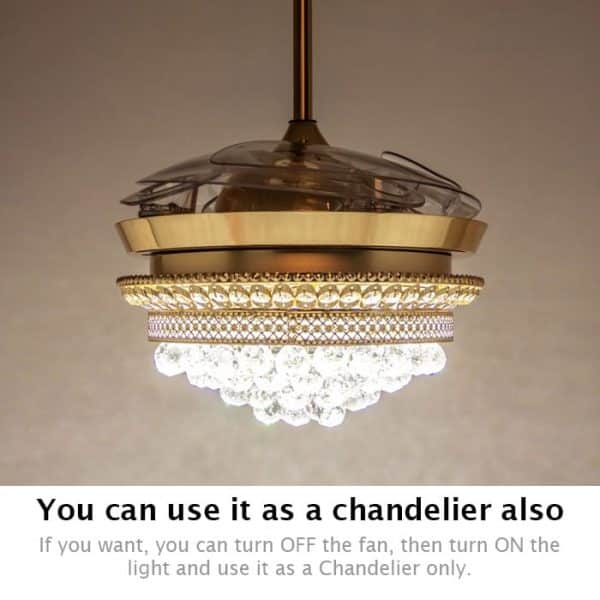 You can use it as a chandelier also