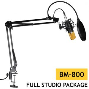 Conderser Microphone BM800 Full Studio package