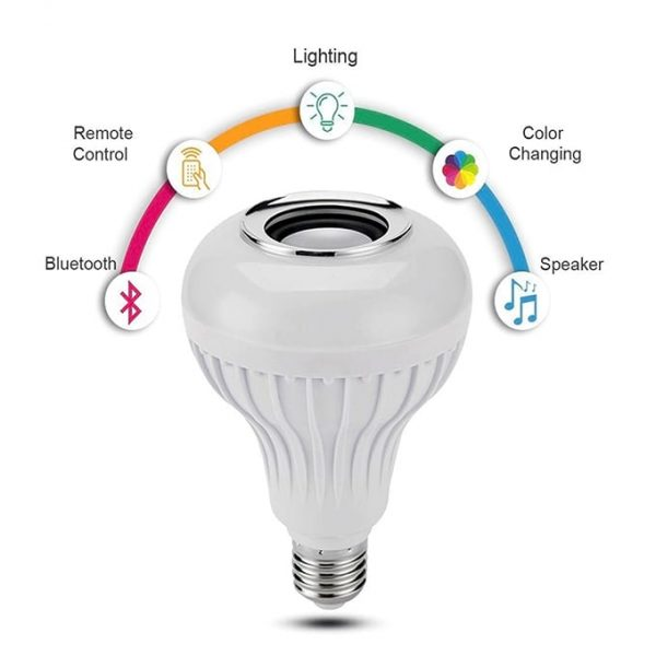 Features of the Bluetooth Speaker Bulb