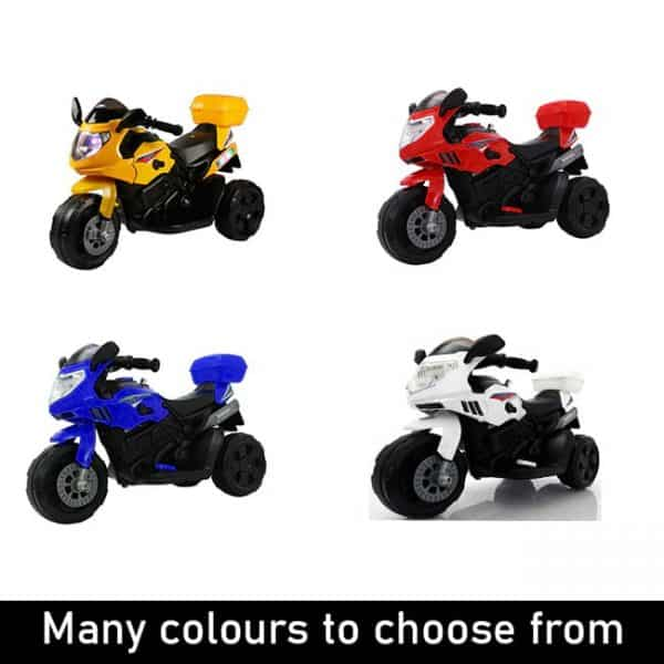 4 Colour Baby Bikes Available