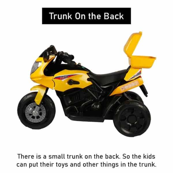 Baby Bike With Trunk