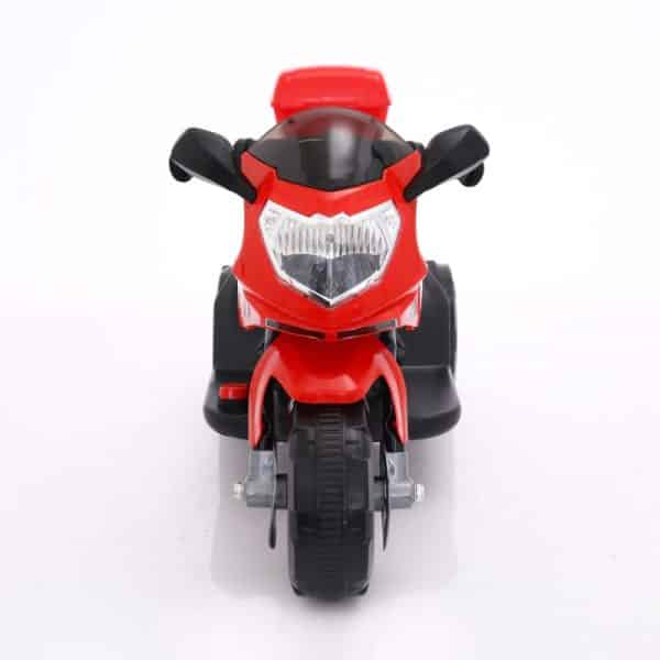 Front View of the Red Colour BR-01R Baby Motor bike