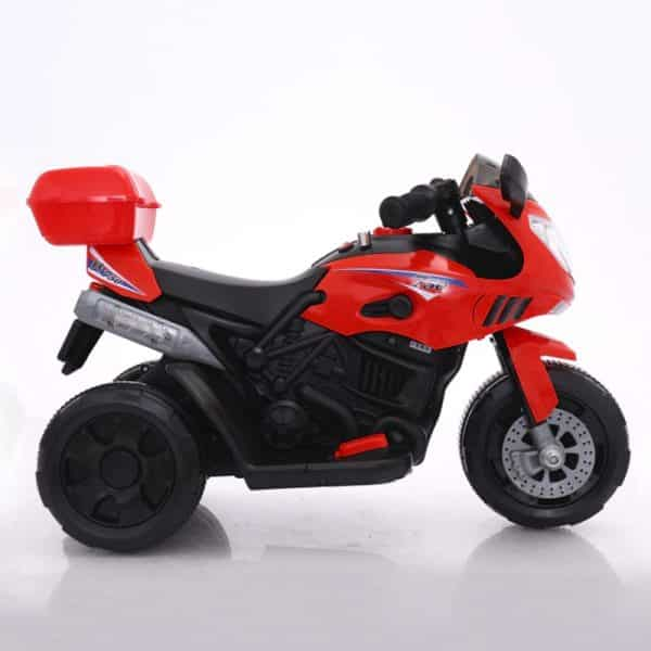 Full View of The B-01R Baby Motor Bike For Kids