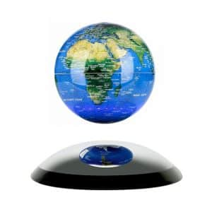 Oval Base Magnetic Levitating Air Floating Globe
