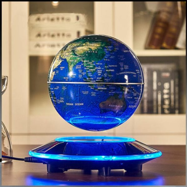 Real Picture of the Alien Magnetic Levitating Globe